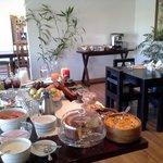 Breakfast at Villa Moringa