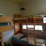 4-bed dorm (no shower)