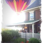 Balloons over the Parker House!