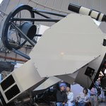 Close View of One of the Huge Telescopes