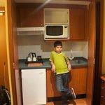 Living Room Kitchenette - Junior Suite