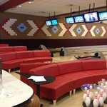 couches while bowling!