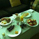 room service int he morning :) delicious!