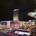 our hotel from the strip