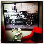 Bodøs første bil var selvsagt hotellbilen på Hotel Grand Bodø!