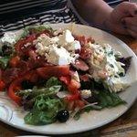 Bacon and feta salad :)