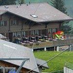 Berghaus Stoss mit schöner Sonnenterrasse