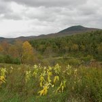Autumn view of Lord's Hill, Vermont.