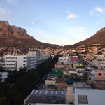 View of the Lion's head from my room
