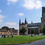 Palace Green & Durham Cathedral on a sunny day
