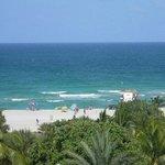 more room view- beautiful beach!