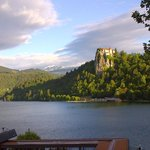 Bled Lake and Castle in the afternoon