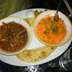 Tomato-based Indian curry