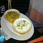 Coconut milk based Thai curry