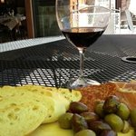 Farmer's Board and a great Malbec