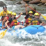 Whate Water Rafting