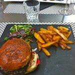 """le """" burger de la place""""..."""
