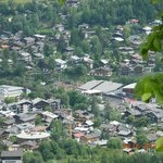 Kitzbuhel from Hahnenkamm Mountain