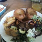 Main Course : Roast Beef & Roast Pork