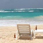 cervecita en la playa de San Luis