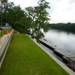 Dock and Suwannee River