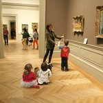 Kids on an ArtMuse tour at the Met!