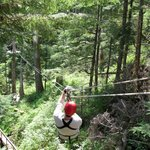 Tirolesa y parques de aventuras aéreas
