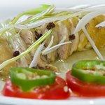 Pollo Frio en salsa de Pimienta de Sichuan