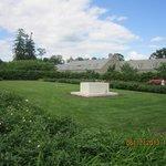 FDR's burial site in Rose Garden
