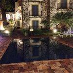 piscina a noite. hotel xique!!!