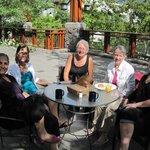 On Breakfast Deck, Pan Pacific Whistler