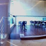 Vista panorámica del hall.