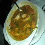 Moquecas with shrimp
