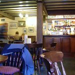 Walkers bar at the Three Shires Inn