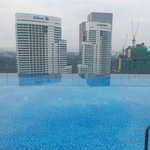 SWIMMING POOL AT 30TH FLOOR