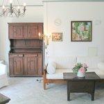 """""""Garten-Wohnung"""": Wohnzimmer"""