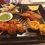 Tandoori Appetizer Platter