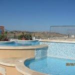 piscina sulla terrazza