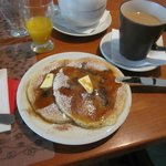 Breakfast(2) Cranberry pancake