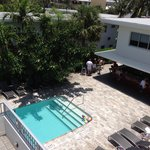 Front Pool with Bar and Cafe
