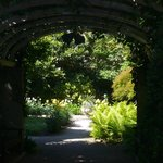 This is the entrance to the wonderful garden