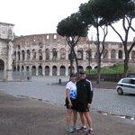 Jeff and Karen in Rome