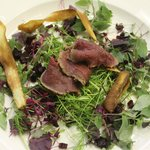 Carpaccio of Round Green Farm Venison