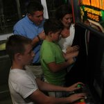 Family Arcade in Indoor Pool Complex