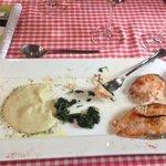 fantastic salmon dinner!