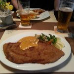 The biggest Schnitzel in the Veluwse (allegedly)