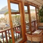 Room patio view