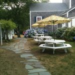 Monomoy Theater: Patio in July 2012