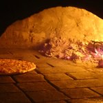 One of the only brick ovens on the island! Pizza was so yummy!!!