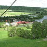 View from the top of Air Holiday Ziplines